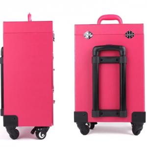Visagie Koffer Roze