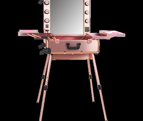 Mobiele Visagie Tafel Sweet Pink