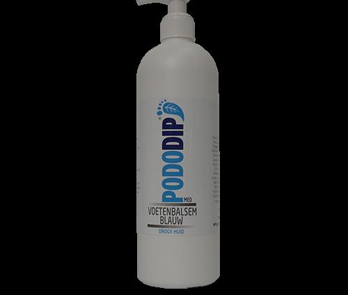 PodoDip Voetenbalsem Blauw 500 ml