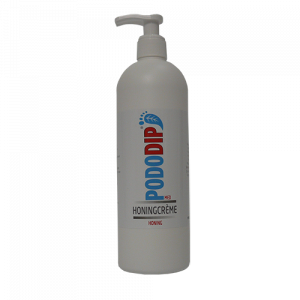 PodoDip Honingcreme 500 ml in Pompverpakking