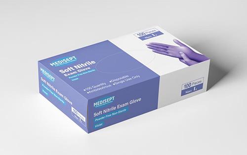 MEDISEPT® Soft Nitrile Handschoenen Maat L