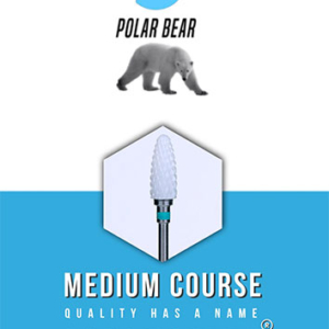 Podomonium Keramische Frees Polar Bear Medium