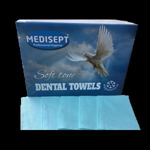 Medisept Dental Towels Soft Tone Kleur Blauw