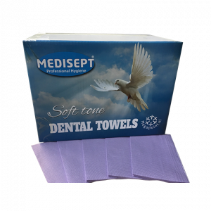 Medisept Dental Towels Soft Tone Kleur Paars