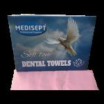 Medisept Dental Towels Soft Tone Kleur Roze Extra Zachte Kwaliteit