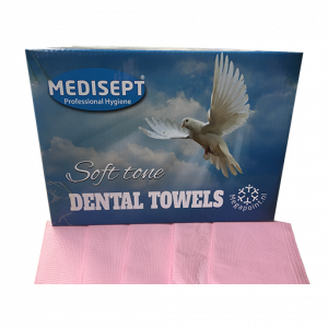 Medisept Dental Towels Soft Tone Kleur Roze