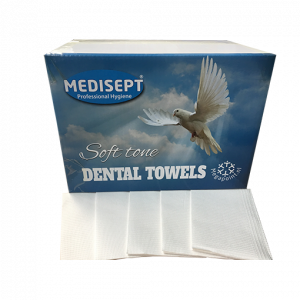 Medisept Dental Towels Soft Tone Kleur Wit