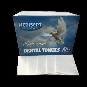 Medisept Dental Towels Soft Tone Kleur Wit Extra Zachte Kwaliteit