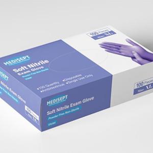 MEDISEPT® Soft Nitrile Handschoenen Maat XL