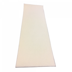 Viltvel 3 mm dik met kleeflaag