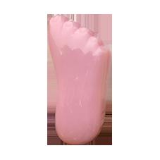 zeepvoetje roze