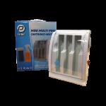 Multi Cartridge Heater 3 vaks voor Harspatronen en Sprayparaffine