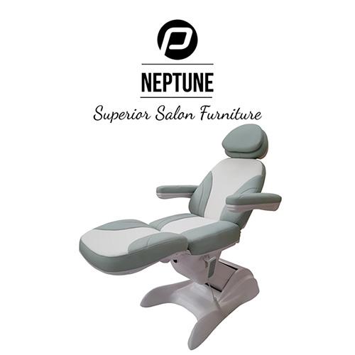 Behandelstoel Neptune in Groen Wit Kleurcombinatie