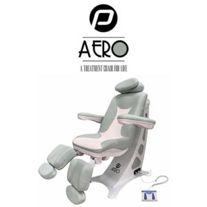 Pedicure Behandelstoel Aero in Groen Wit Kleurcombinatie