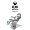 Behandelstoel Moon in Bruin Wit Kleurcombinatie