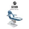 Behandelstoel Saturn in Blauw Wit Kleurencombinatie