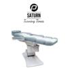 Behandelstoel Saturn in Grijs Wit Kleurcombinatie