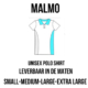 PClinic Unisex Polo Malmo Maat S