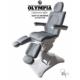Behandelstoel Olympia met gedeelde beendelen Royal Grey Grijs