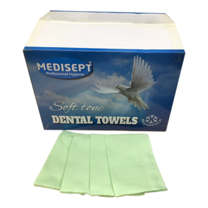 Medisept Dental Towels Soft Tone Kleur Groen