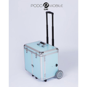 PodoMobile Midi Pedicure Trolley Grey Blue
