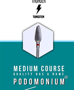 PodoMonium Tungsten Frees Blue Tunder Medium Course