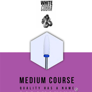 Podomonium Keramische Frees White Cobra Medium Course