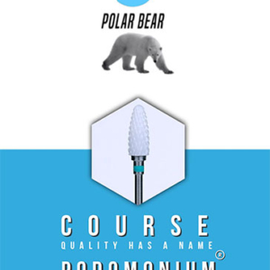 Podomonium Keramische Frees Polar Bear Course