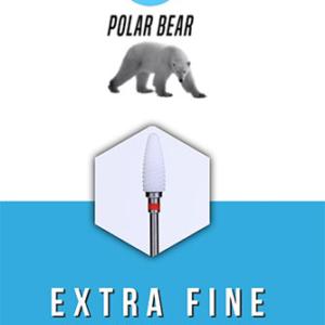 Podomonium Keramische Frees Polar Bear Extra Fine