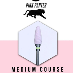 PodoMonium Keramische Frees Pink Panter Medium Course