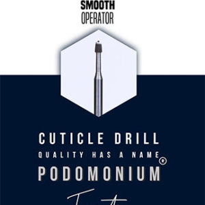 PodoMonium Tungsten Frees Smooth Operator Cuticle Drill