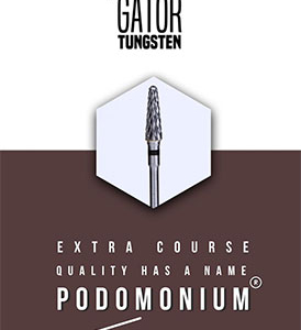 PodoMonium Tungsten Frees Podo Gator Extra Course