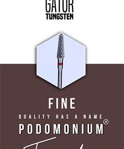 PodoMonium Tungsten Frees Podo Gator Fine