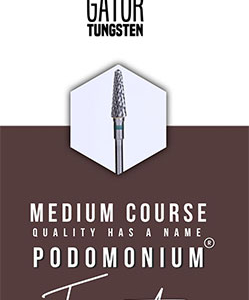 PodoMonium Tungsten Frees Podo Gator Medium Course