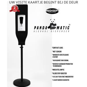 Pandamatic Vloeistof Dispencer met Sensor op Standaard