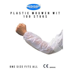 Plastic Mouwen - Pak 100 stuks - One Size