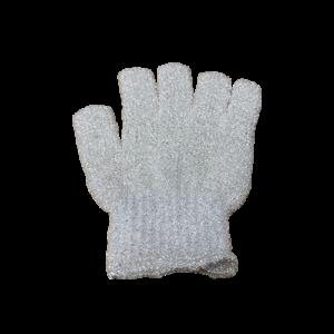 Scrub Handschoen - Kleur - Wit