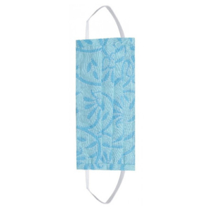 Fashion Mask - 2 Laags - Katoen - Kleur: Lovely Blauw