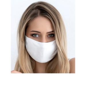 Stoffen Masker - 2 Laags - met optie voor filter - Kleur: Wit- per 3 stuks