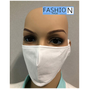 Fashion Mask - 2 Laags - Kleur- White