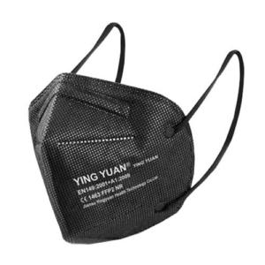 Health masker FFP2 NR - Zwart -Pakje 10 stuks