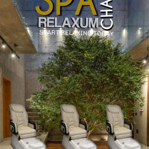 "Spa Chair ""RELEXUM"" Met Rugmassage."
