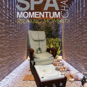 """Spa Chair """"MOMENTUM"""" met lucht massage en MP3 Speler."""