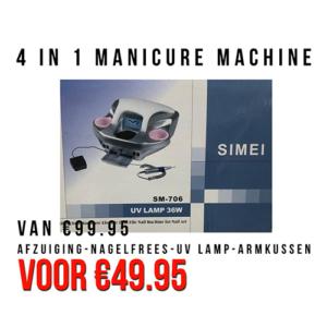 4 in 1 Manicuremachine
