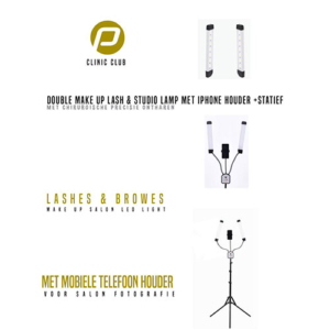 Double Make-Up Lash & Studio Lamp