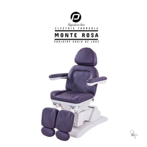 "Pedicurestoel ""Monte Rosa"" Royale Aubergine"