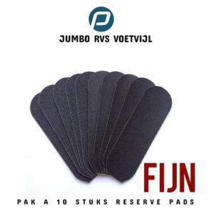 Jumbo Voetvijl Pads Fijn pak 10 stuks