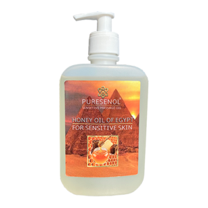 Puresenol Honey of Egypt Sensitive Massage Olie 500 ml