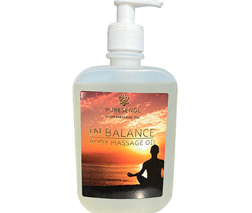 Puresenol In Balance Body Massage Olie 500 ml