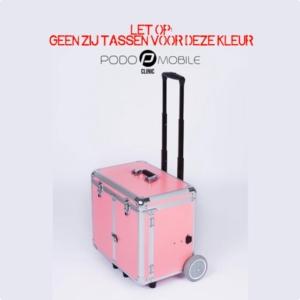 PodoMobile Midi Pedicure Trolley Sweet Pink Zonder Zijvakken